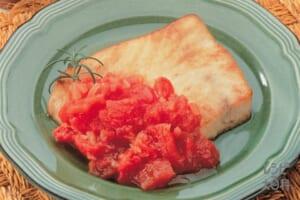 かじきのソテー トマトソース