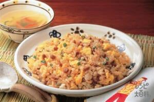 納豆チャーハン(ご飯+卵を使ったレシピ)