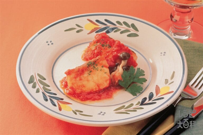 たらのトマト煮