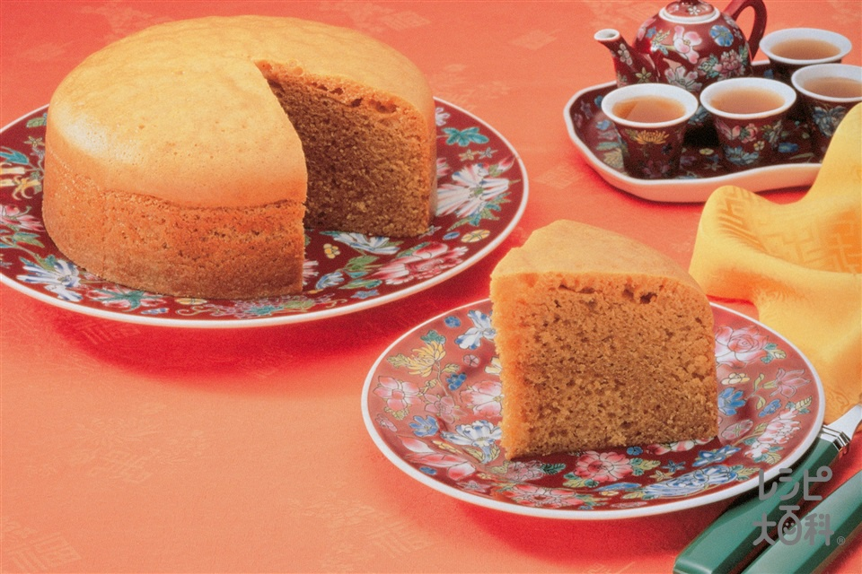 中国風蒸しパン(小麦粉+卵を使ったレシピ)