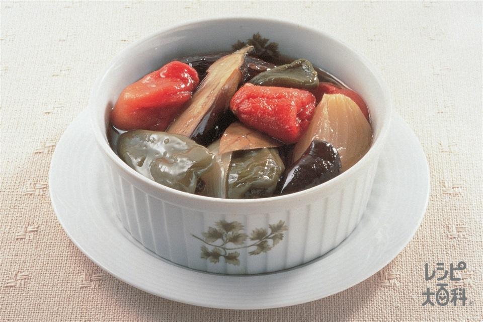 ラタトゥイユ(なす+玉ねぎを使ったレシピ)