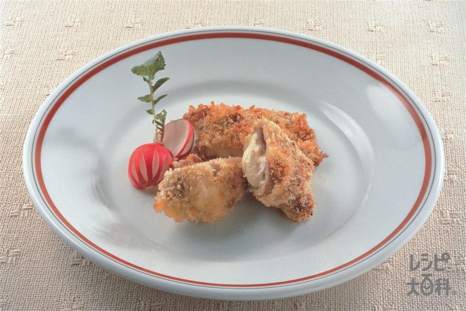 ポークフライ風(豚もも肉+チーズを使ったレシピ)