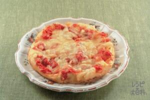 手作りピザ(小麦粉+ピザ用チーズを使ったレシピ)