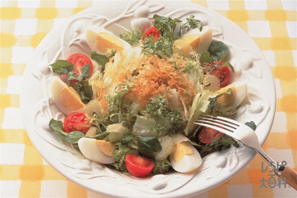 イタリアンサラダ(レタス+チコリを使ったレシピ)