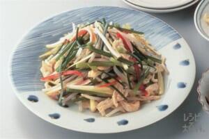 鶏肉の五目野菜炒め