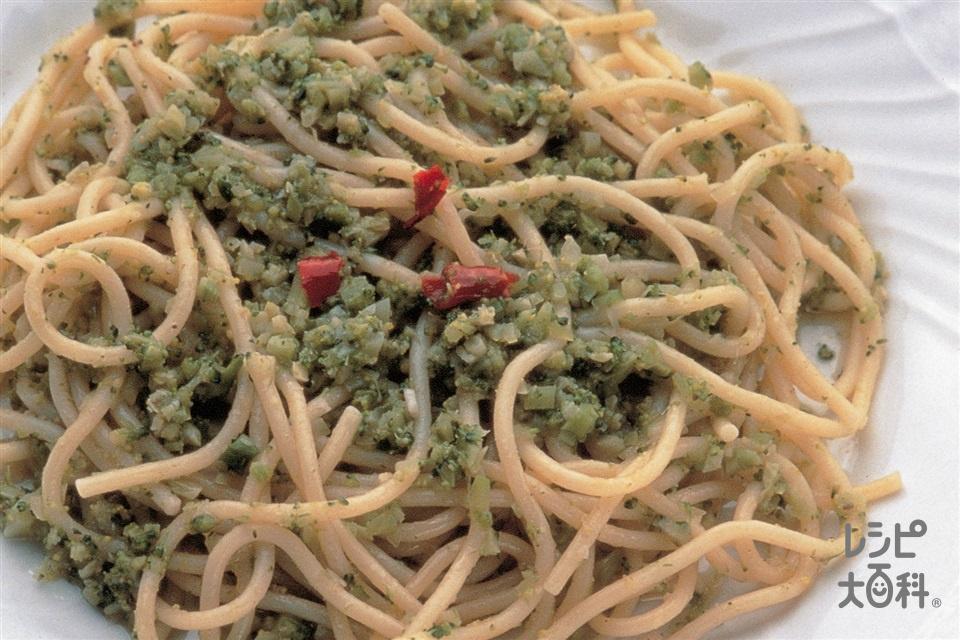 アンチョビとブロッコリーのパスタ(パスタ+ブロッコリーを使ったレシピ)