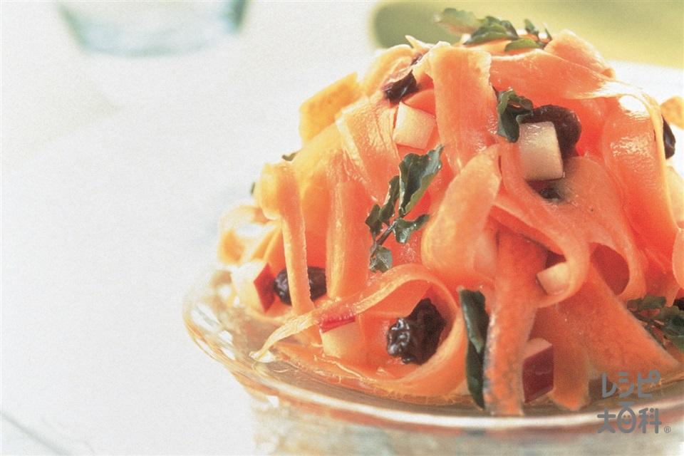にんじんとりんごのハニーサラダ(にんじん+りんごを使ったレシピ)