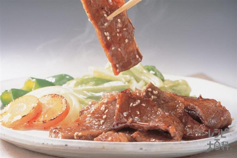 健康サララ焼肉