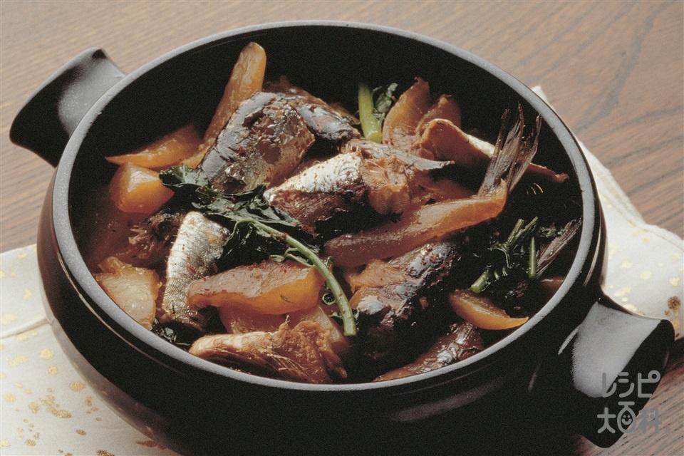 いわしの辛み煮(いわし+A「AJINOMOTO ごま油好きのごま油」を使ったレシピ)
