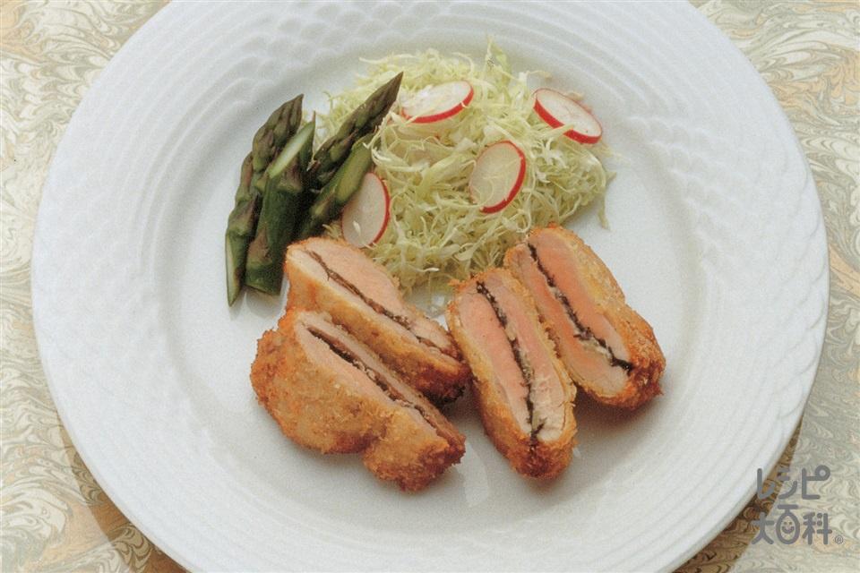 豚ヒレ肉のパネソテー
