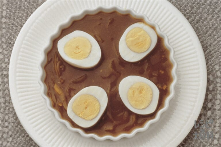 卵のカレー煮