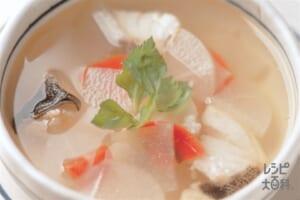 大根とたらのスープ
