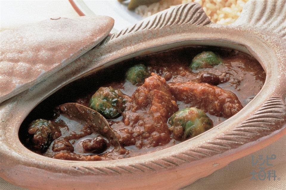 芽キャベツとスペアリブのカレー(スペアリブ+芽キャベツを使ったレシピ)