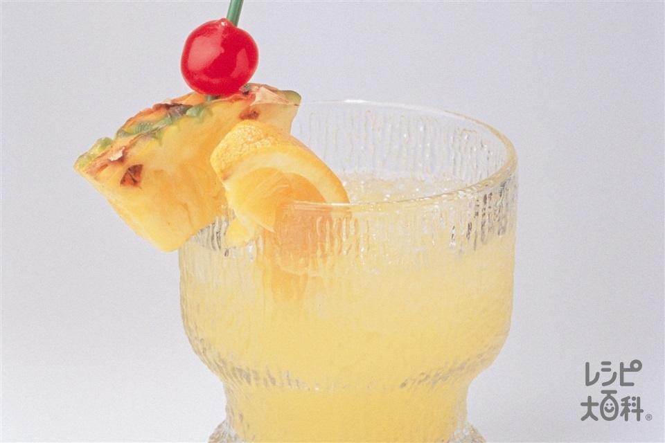 マイタイ(Aラム酒+Aパイナップルジュースを使ったレシピ)