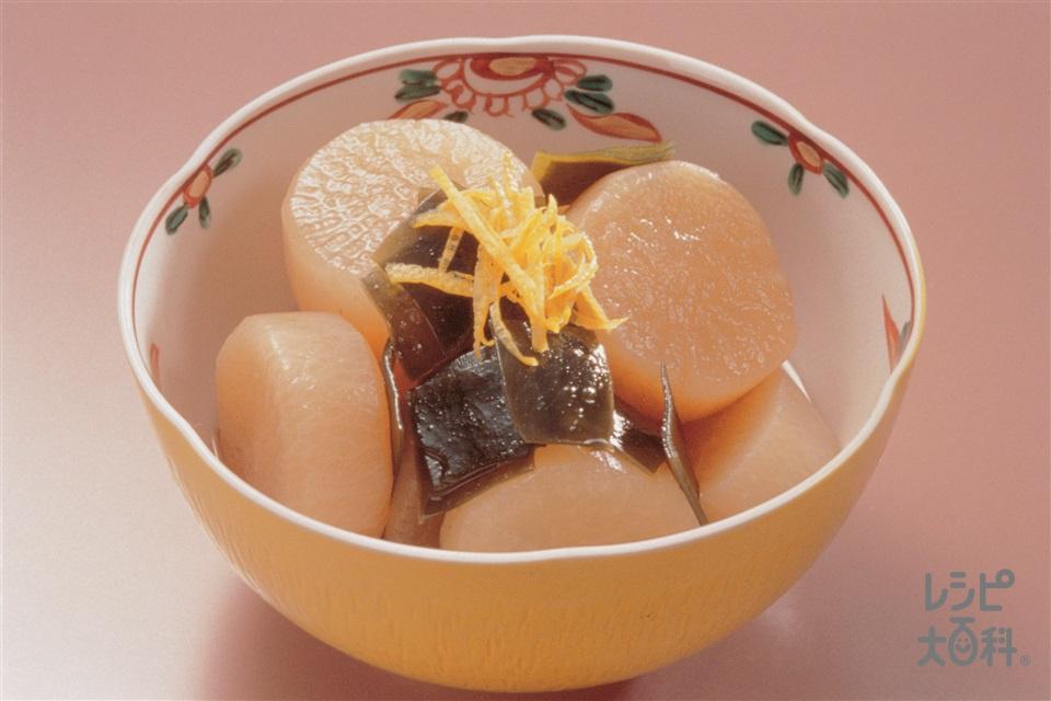 大根とこんぶの煮もの(大根+昆布を使ったレシピ)