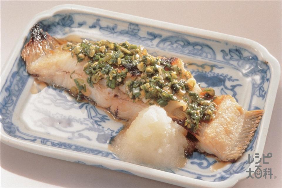 魚の南蛮焼き(かれい+大根おろしを使ったレシピ)