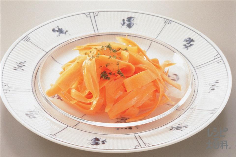 にんじんのサラダ(にんじん+A「瀬戸のほんじお」を使ったレシピ)