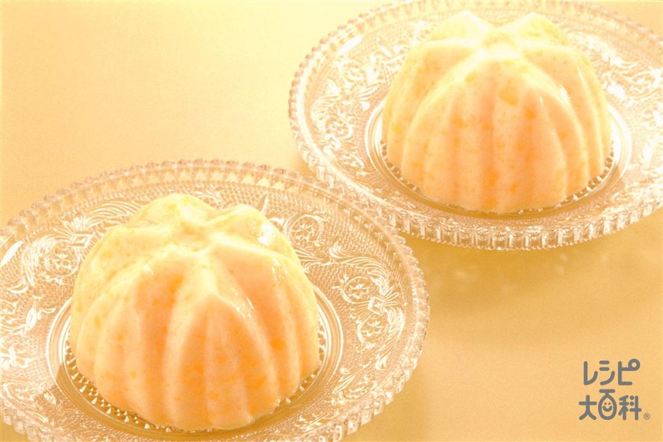 マンゴープリン(マンゴー+牛乳を使ったレシピ)