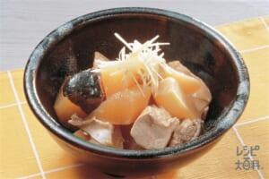 大根・焼き豆腐・ぶりの煮物