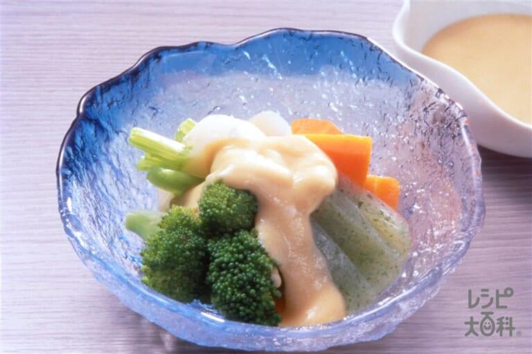野菜の酢みそ