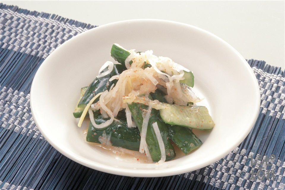 簡単オイキムチ(きゅうり+大根を使ったレシピ)