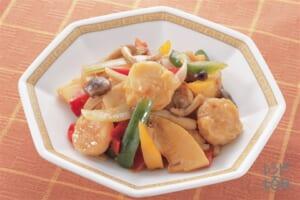 えびシューマイと野菜のオイスターソース