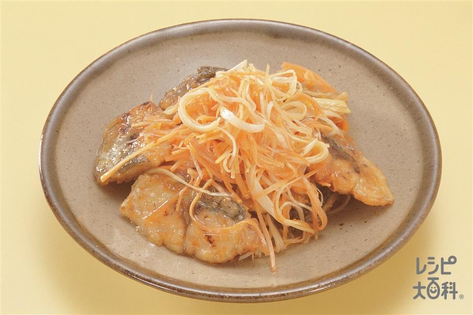 さばの中国風マリネ(さば+片栗粉を使ったレシピ)