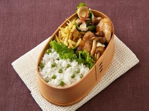 ガリバタ鶏弁当