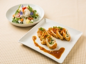 【おしゃれカフェメニュー】 アイデア満載!野菜メインのフレンチメニュー! (エルヴェラヴィ考案)
