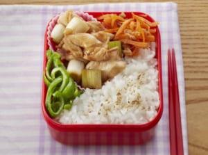 チキンの照り煮弁当