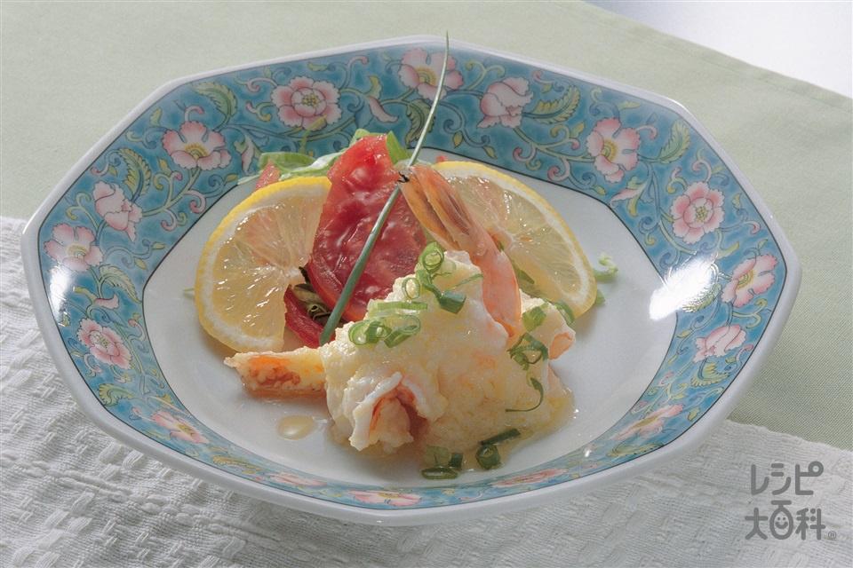 えびの香り焼き(えび+トマトを使ったレシピ)