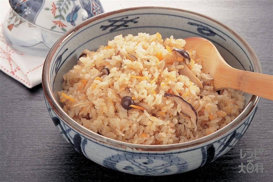 ふかひれ中華おこわ(米+もち米を使ったレシピ)