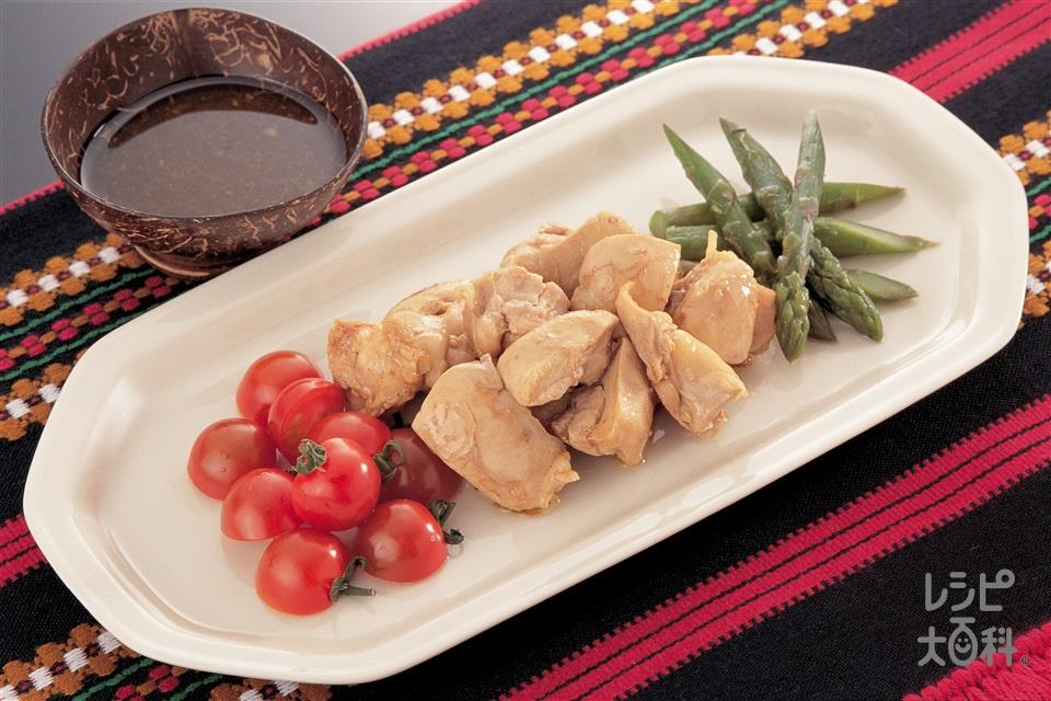 コーヒーチキンのバルサミコ風味(鶏もも肉+ミニトマトを使ったレシピ)