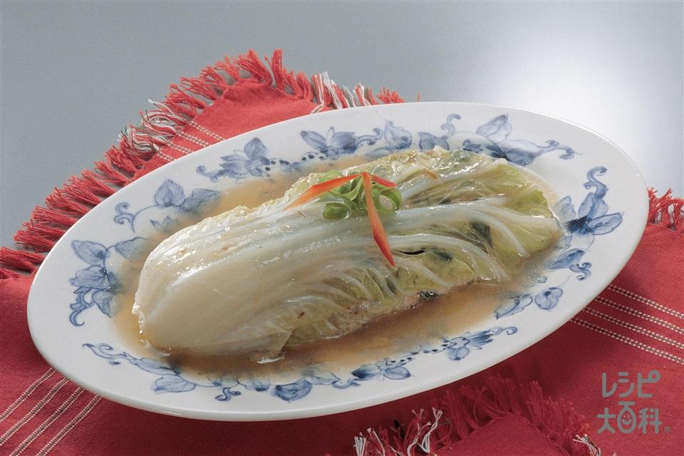 白菜とひき肉のミルフィーユ仕立て(白菜+A合いびき肉を使ったレシピ)