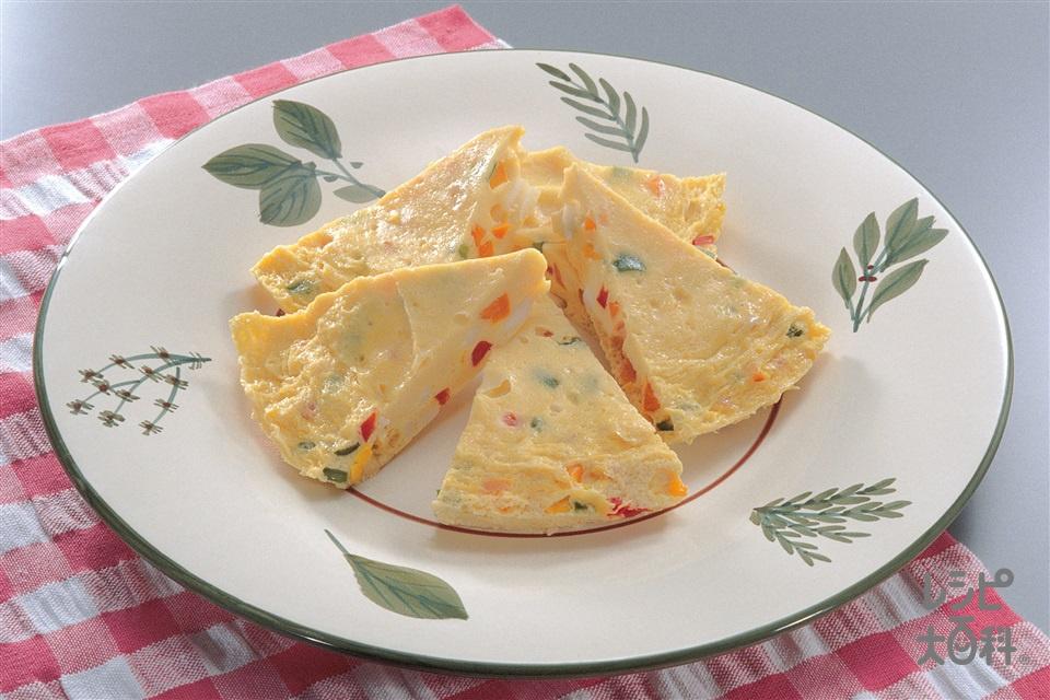 スペイン風オムレツ(卵+するめいかを使ったレシピ)