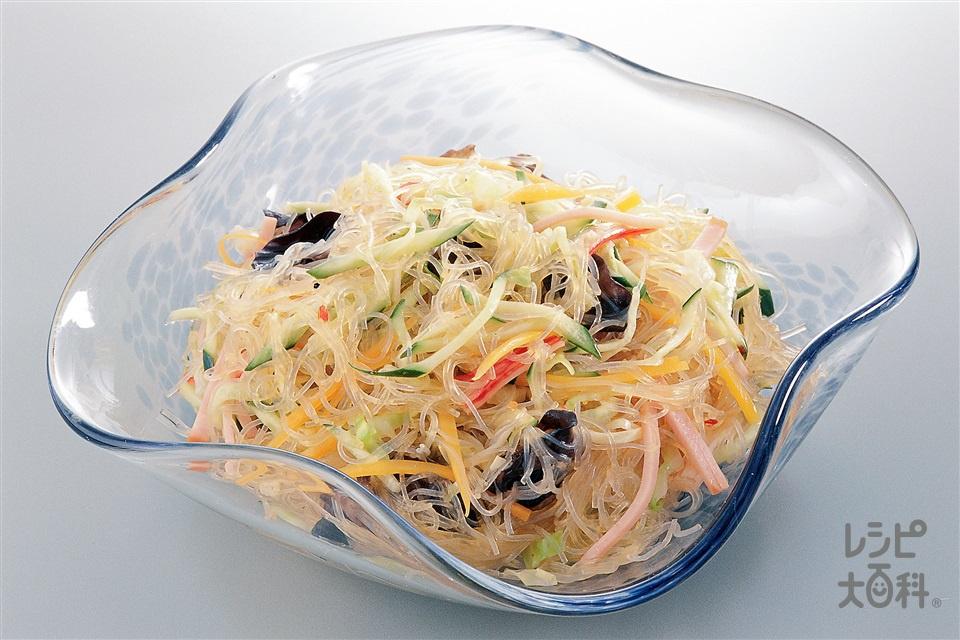 春雨サラダ(キャベツ+きゅうりを使ったレシピ)
