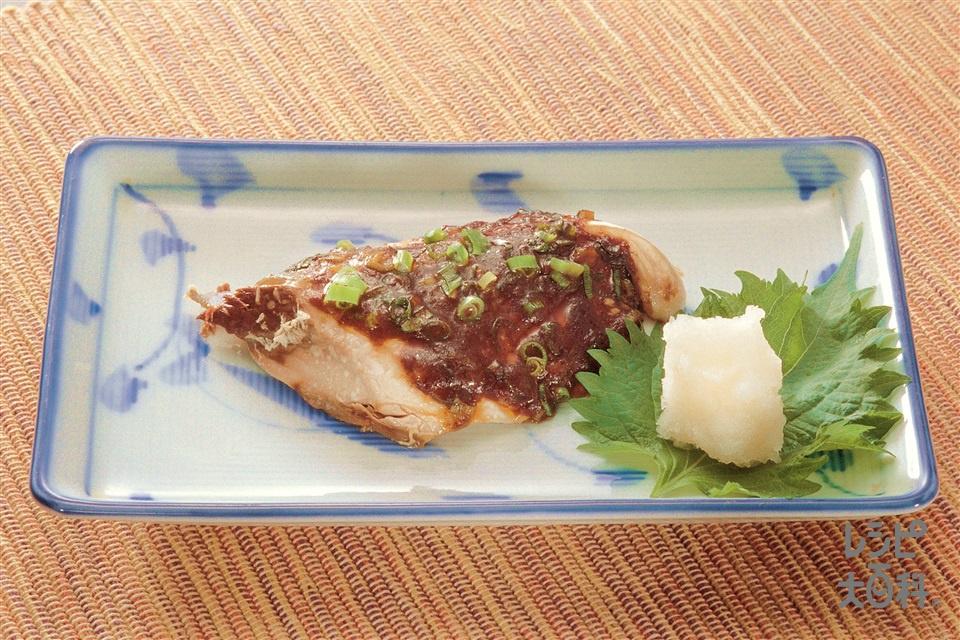 カンタン!お魚の回鍋肉味(さば+大根おろしを使ったレシピ)