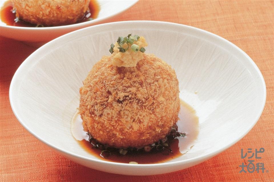 和風コロッケ(じゃがいも+豚ひき肉を使ったレシピ)