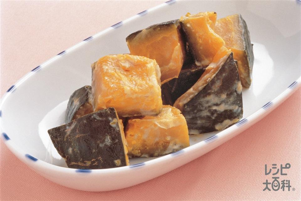 かぼちゃのミルク煮(かぼちゃ+牛乳を使ったレシピ)