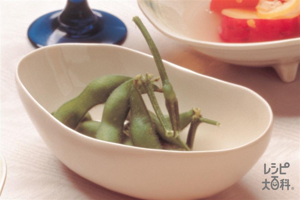 ゆで枝豆(枝豆を使ったレシピ)