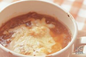玉ねぎの洋風雑煮