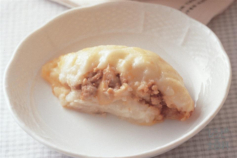 じゃがいもの和風ミートソースグラタン(じゃがいも+合いびき肉を使ったレシピ)