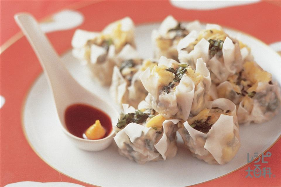 ひすいシューマイ(豚ひき肉+卵を使ったレシピ)