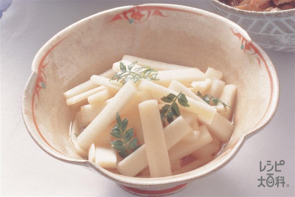 うどの和風ピクルス(うど+砂糖を使ったレシピ)