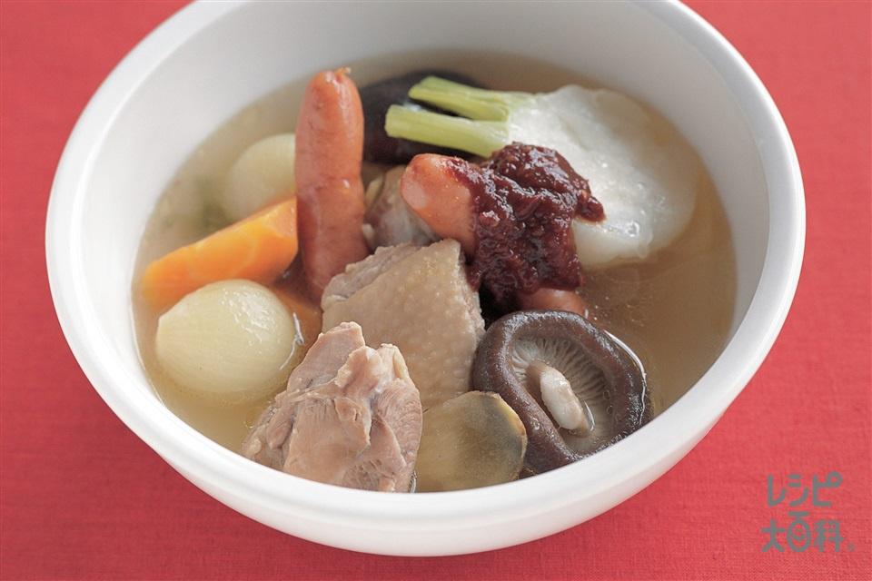 チャイナポトフ(鶏もも肉+かぶを使ったレシピ)