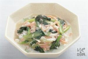 ター菜とハムの中国煮