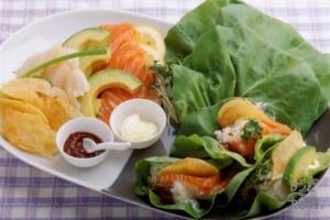 手巻き菜寿司