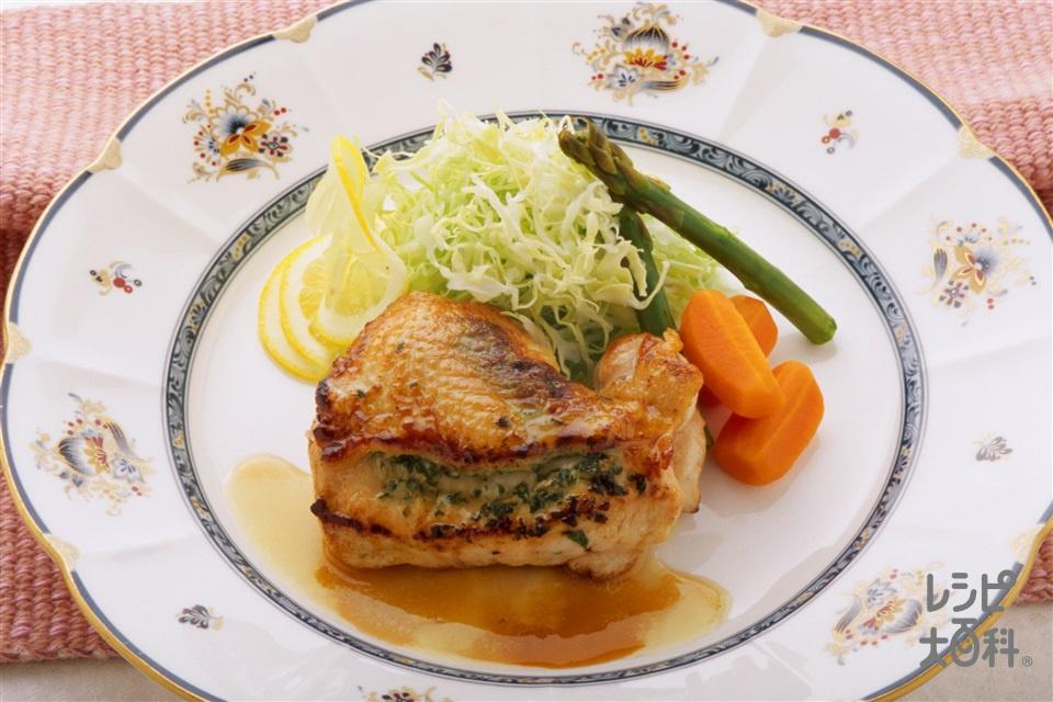 はちみつソースのチキンソテー (鶏むね肉+にんじんを使ったレシピ)