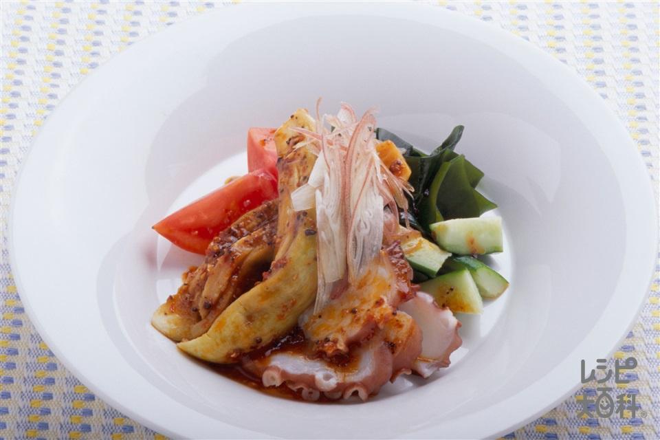 夏の取り合わせサラダ(なす+トマトを使ったレシピ)