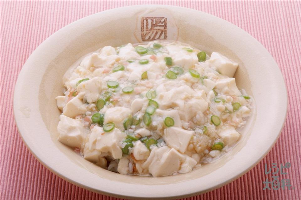 豆腐あんかけ飯(ご飯+絹ごし豆腐を使ったレシピ)